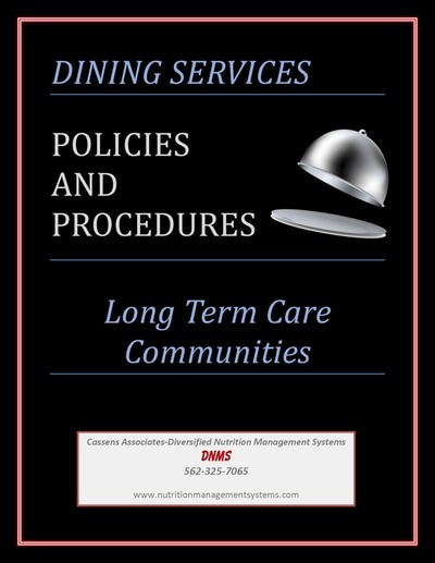 Dining Services Policies & Procedures - Flavorful ...